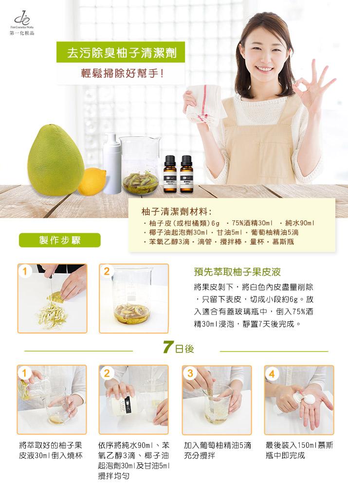 柚子清潔劑