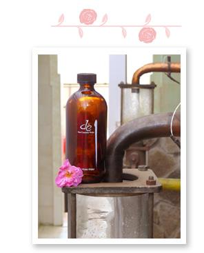 玫瑰水製作過程